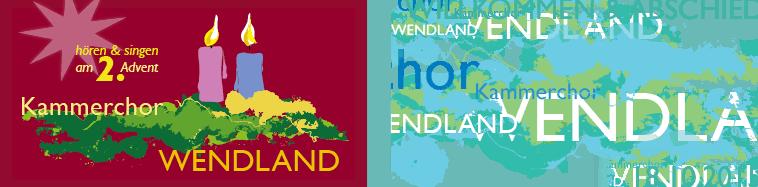 Kammerchor Wendland, Postkarten für Konzerte