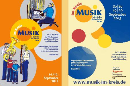 Plakat Musik im Kreis 2013 und 2014