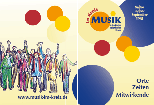 Illustration Musik Programmheft