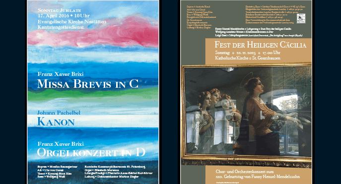 Die Missa Brevis in C von Franz Xaver Brixi und ein Konzert zu Ehren der Hl. Cäcilie in Nasstätten und St. Goarshausen