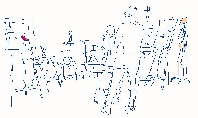 malen zeichnen modellieren lernen