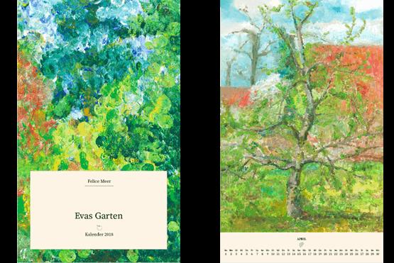 Kalender 2018 Evas Garten
