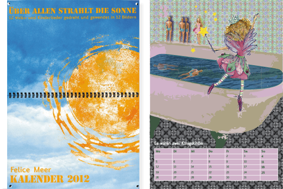 Kalender 2012 Illustrationen Felice Meer