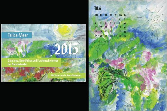 Kalender 2015 Illustrationen zu Texten von Petra Dittberner