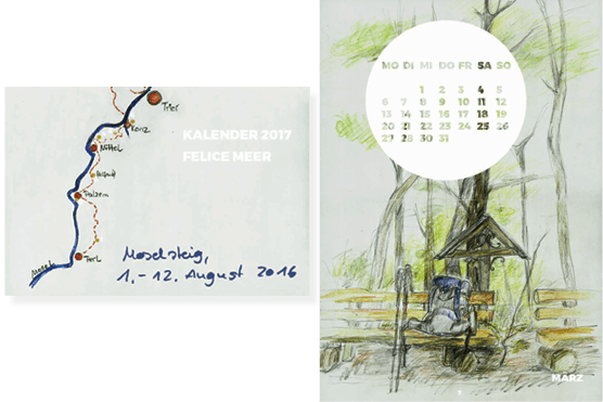 Kalender 2017 Moselsteig