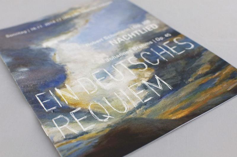Programmheft Brahms Requiem