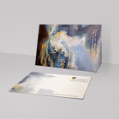 Postkarte Brahms Requiem