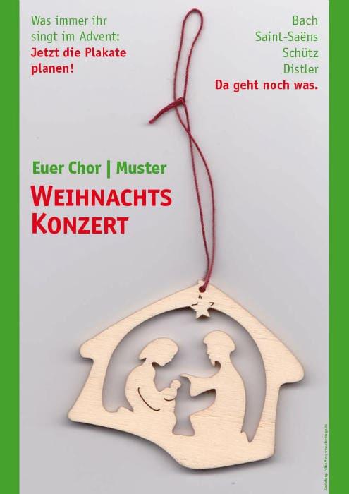 Weihnachtsoratorium Plakat