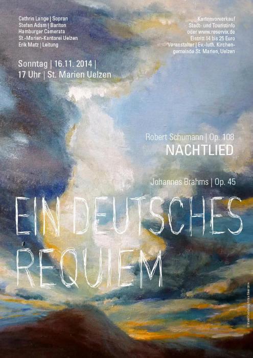 Ein deutsches Requiem Plakat