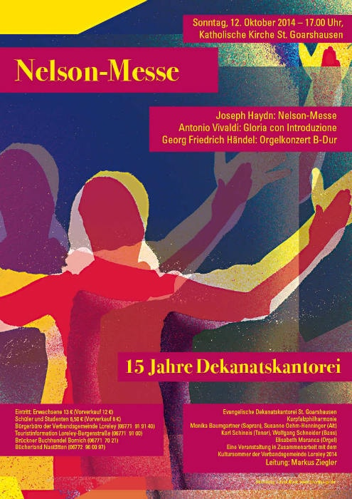Nelson Messe Plakat