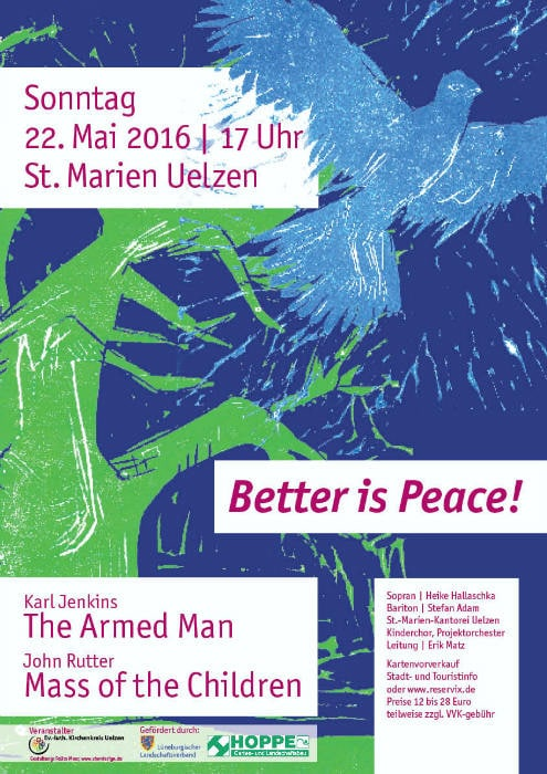 The Armed Man Plakat