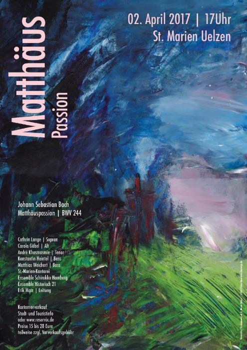 Matthäus Passion Plakat