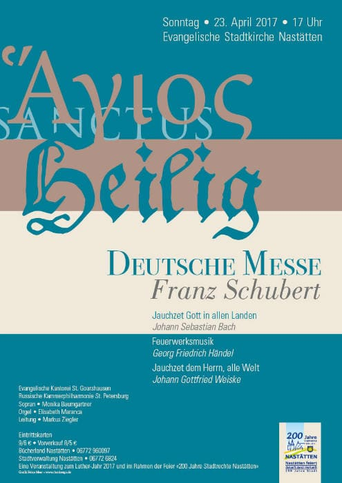 Deutsche Messe Plakat