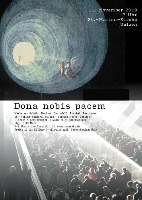 Dona nobis Pacem Plakat