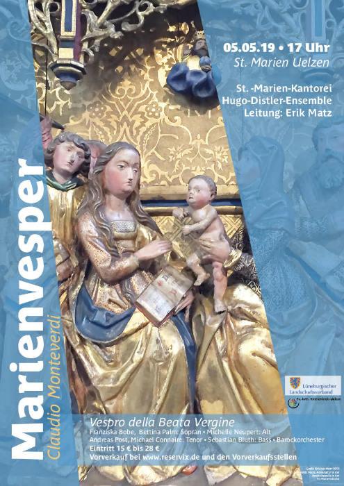 Marienvesper Plakat