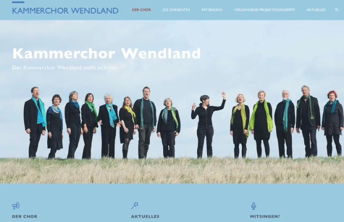 Chor Webseite