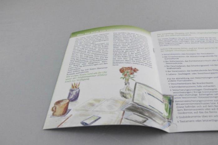 Bestattung Broschüre
