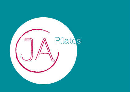 Pilates Postkarte