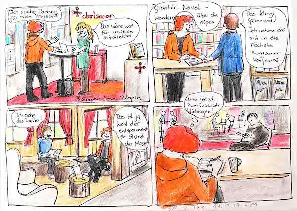 Frankfurter Buchmesse, 2. Tag, Comic