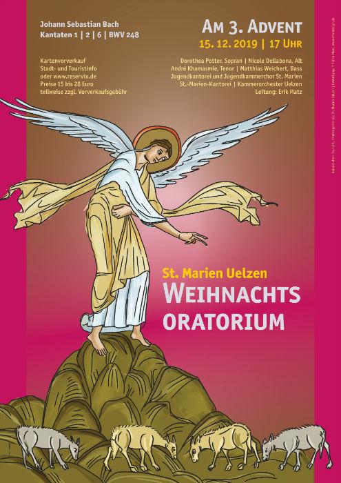 2019 Weihnachtsoratorium Uelzen, Plakat