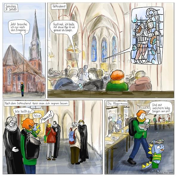 3. Pilgersymposium in Hamburg: Gottesdienst und Pilgermesse