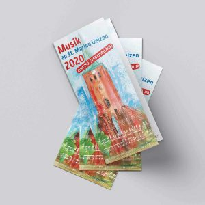 Uelzen Illustration Programm Kirchenmusik