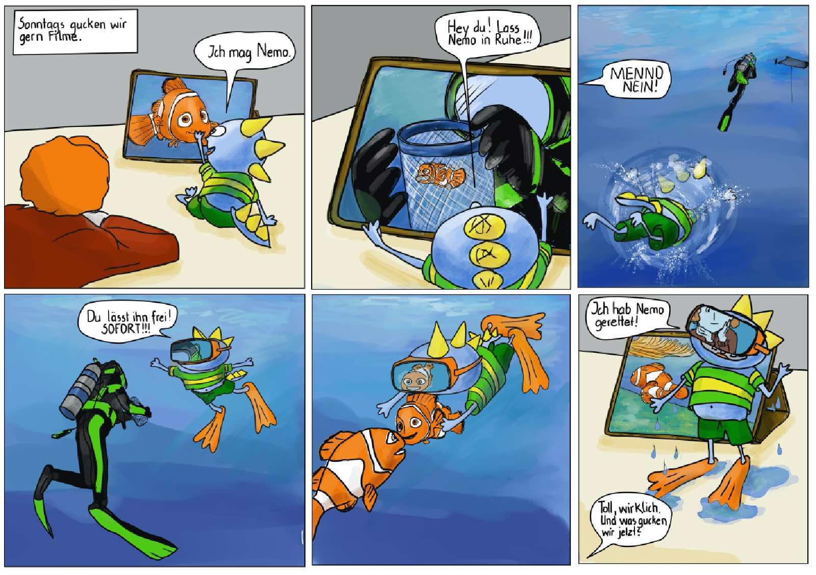 Finding Nemo Comic