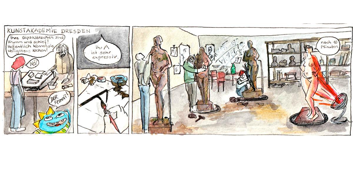 Felice Meer, Comic Autobiographie 2