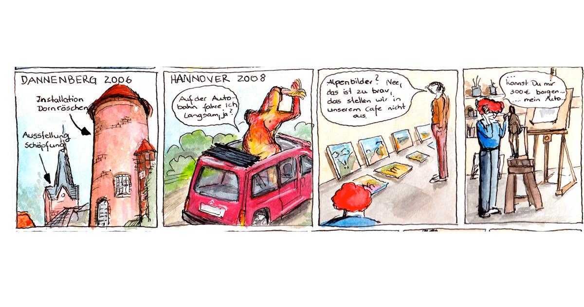 Felice Meer, Comic Autobiographie 6