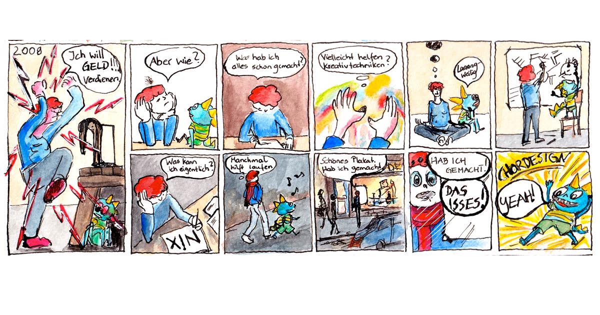 Felice Meer, Comic Autobiographie 7