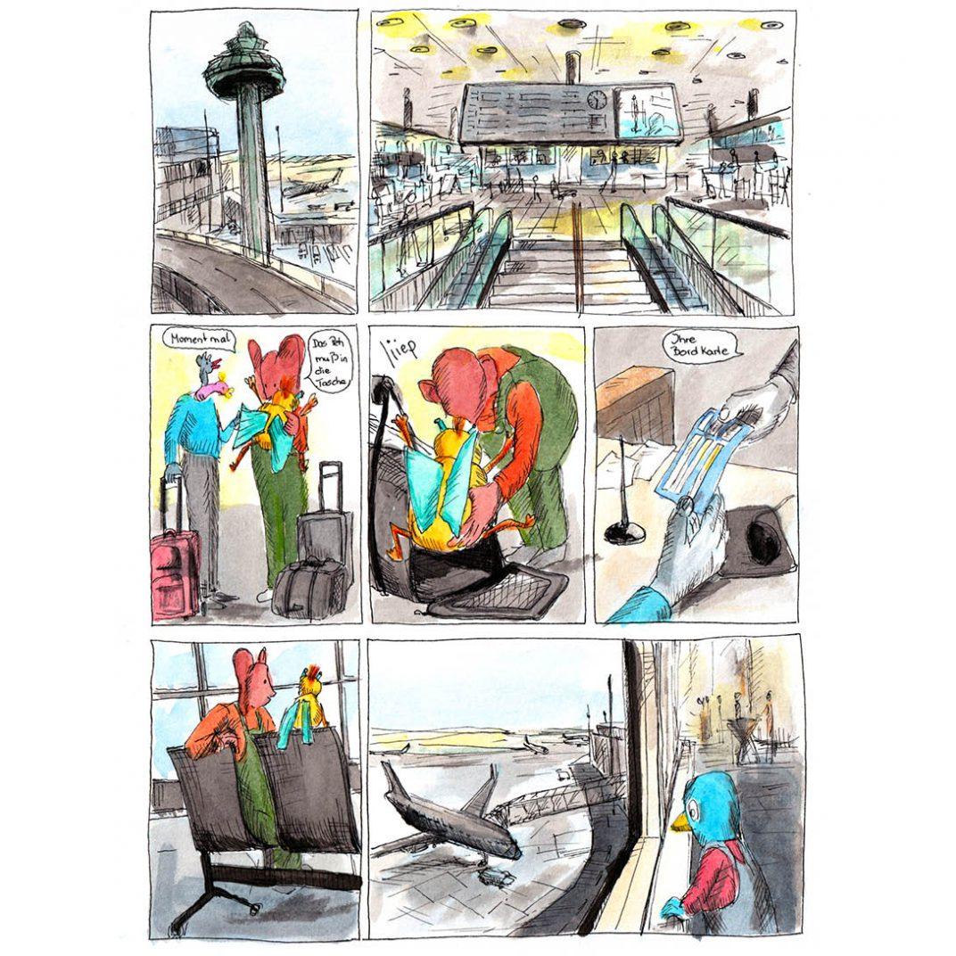 Chapter 79 Am Flughafen