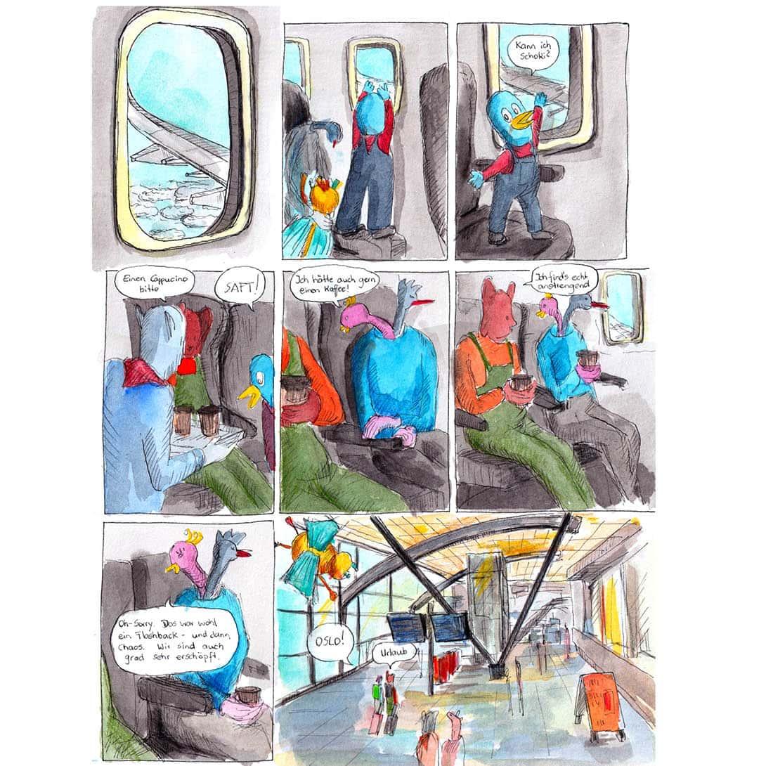 Chapter 81 Im Flieger