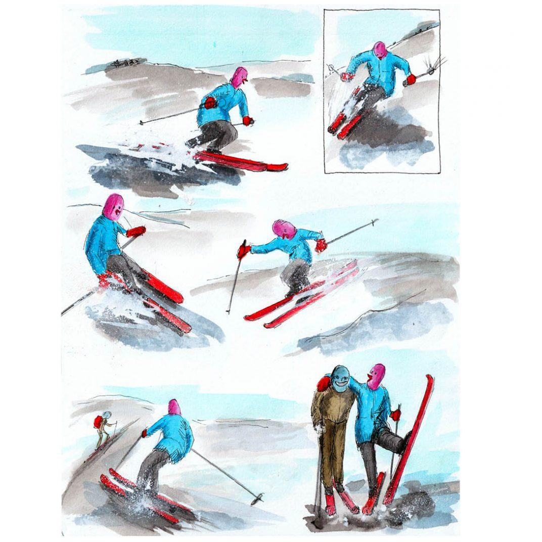 Chapter 83 Die Skifahrerin